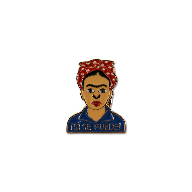 Pin Frida Kahlo Sí que es pot