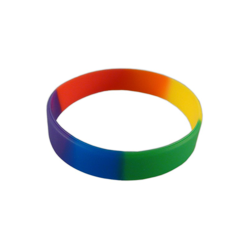 polsera silicona multicolor LGTBI