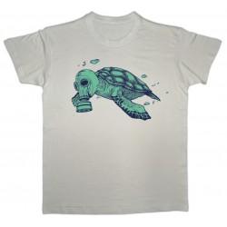Camiseta beige tartaruga