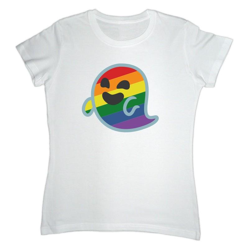 Camiseta branca de Gaysper entalada