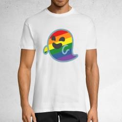 Kamiseta zuria Gaysper unisex