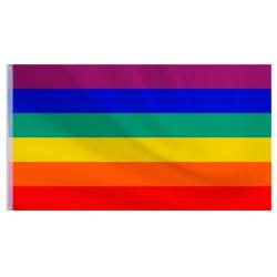 Bandera orgullo gay LGTBI