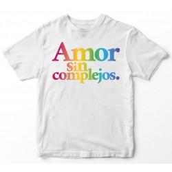 Camiseta Amor sin complejos...