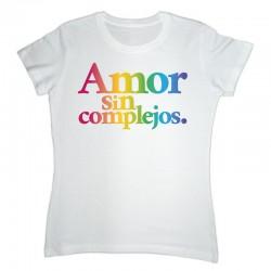 Emakumeen kamiseta Amor sin complejos