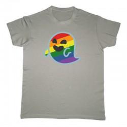 Camiseta Gaysper unisex color gris