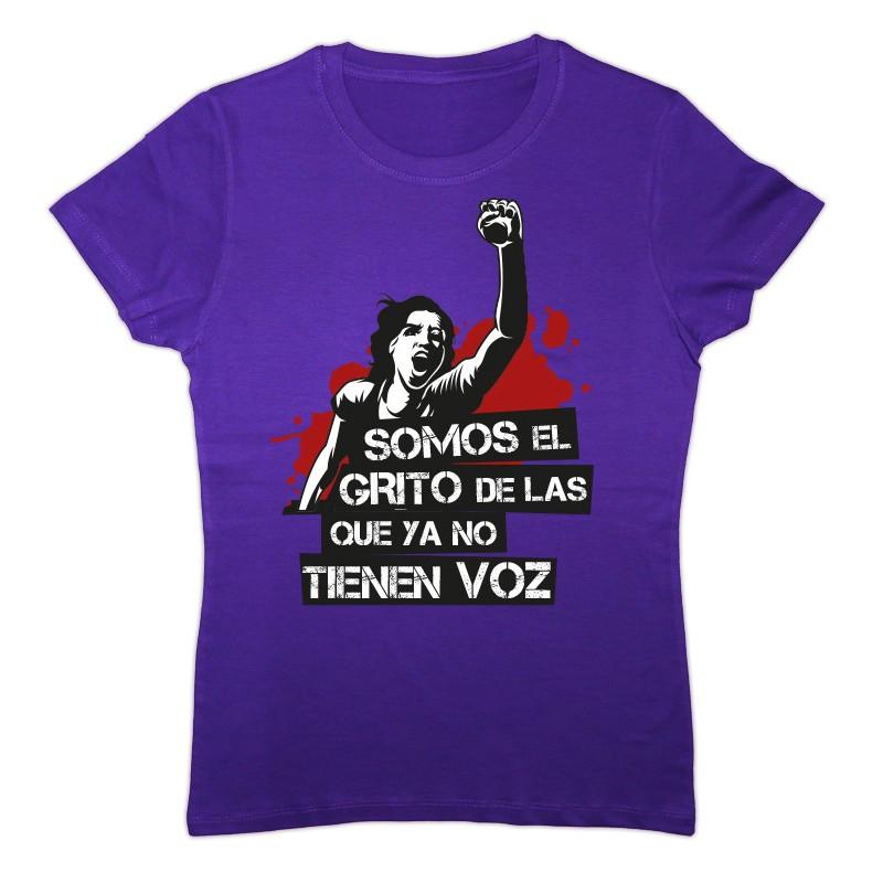 Samarreta feminista Somos el grito lila