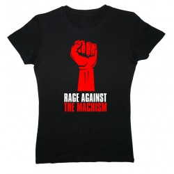 Camiseta Rage Against the Machism negra