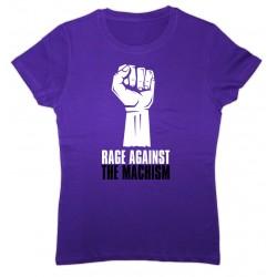 Camiseta Rage Against the Machism lila