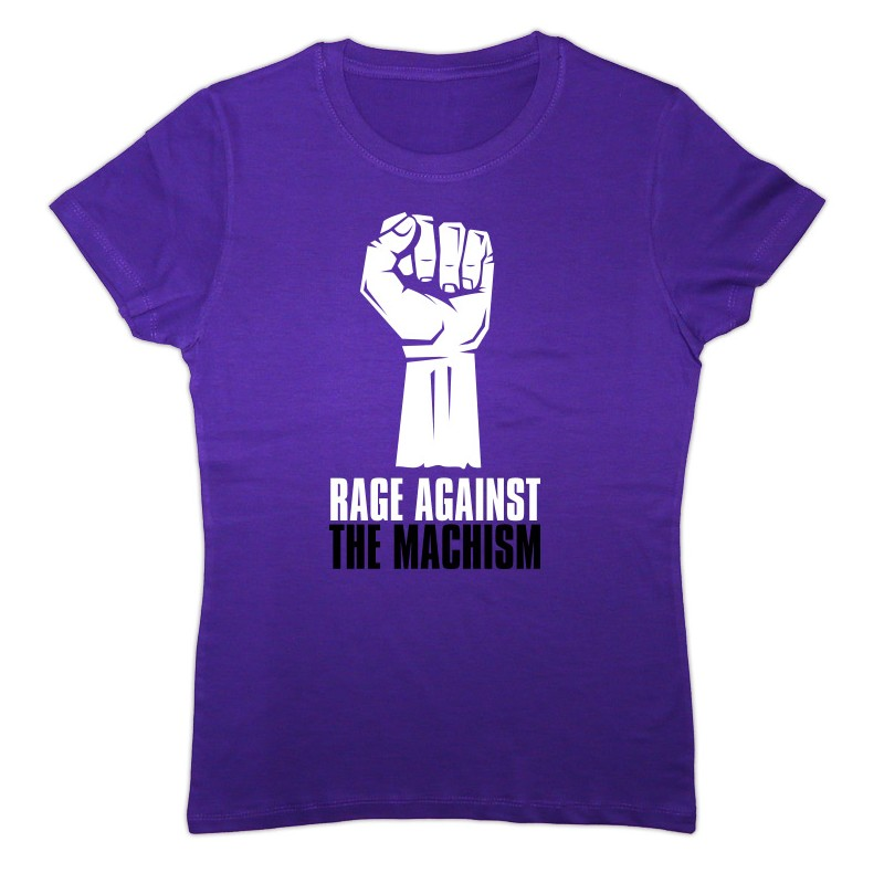 Samarreta lila Rage Against the Machism