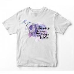 Camiseta unisex Libérate de...