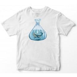 Camiseta unisex da balea