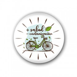 Chapa Uso Bicicleta