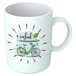 Taza Uso Bicicleta