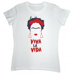 Camiseta Frida Kahlo Viva...