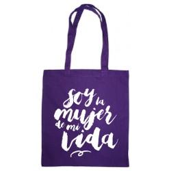 Bolsa de tea lila: Soy la mujer de mi vida