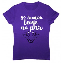 Samarreta color lila: yo también tengo un par