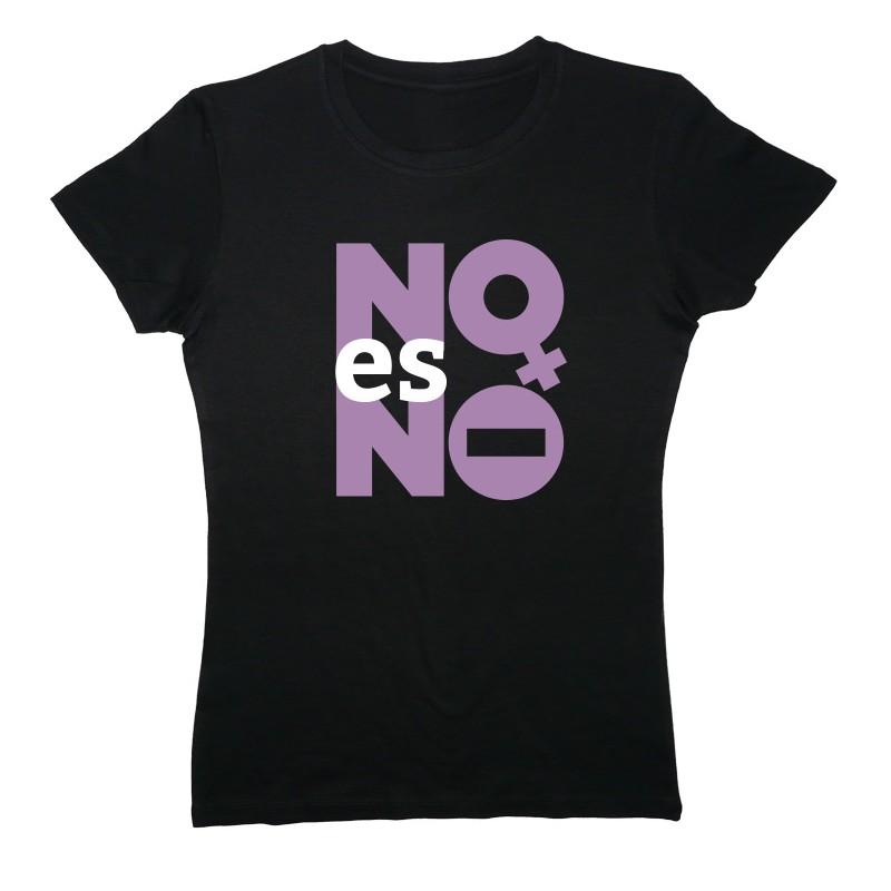 Kamiseta beltza NO es NO