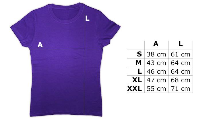 Camiseta lila mujer