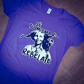 No lo olvides, sé tú misma. Siempre. 💜 El feminismo debe partir de la liberación de la mujer. ¡REBÉLATE!  #liberaciondelamujer #liberacion #pipicalzaslargas #camisetafeminista #feminismo #feminista #setumisma #rebelate #freewoman #freewomen